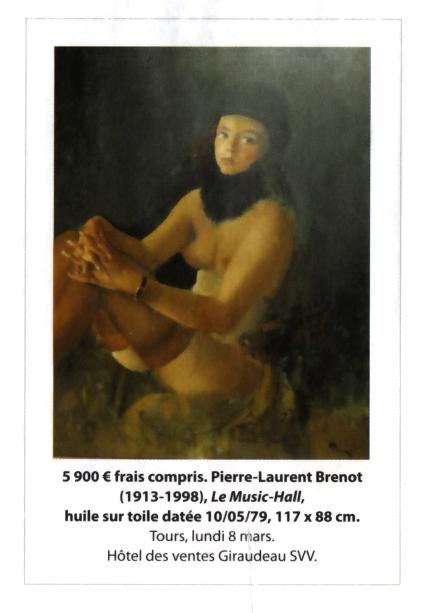 Une vente aux enchères Brenot à l'hôtel Giraudeau