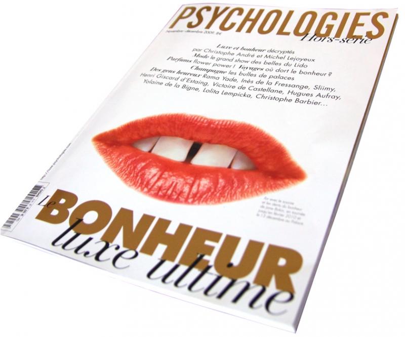 Brenot dans le magazine Psychologies