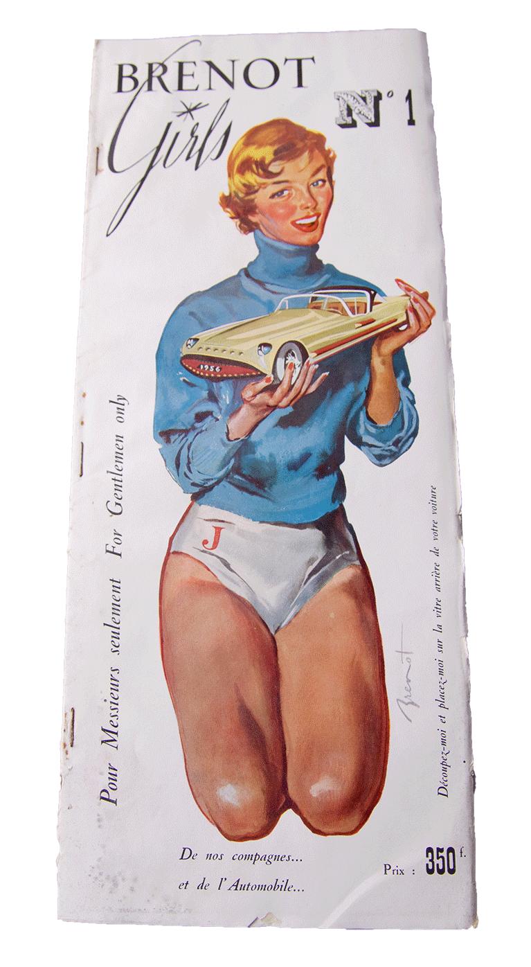 « Brenot girls » Édition Originale de 1956