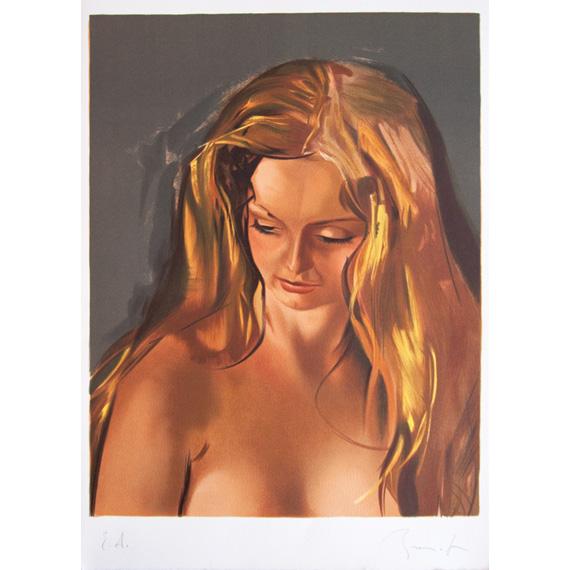 Lithographie « Chantal » épreuve d'artiste