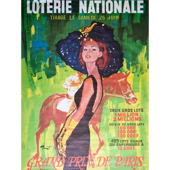 Affiche Loterie Nationale