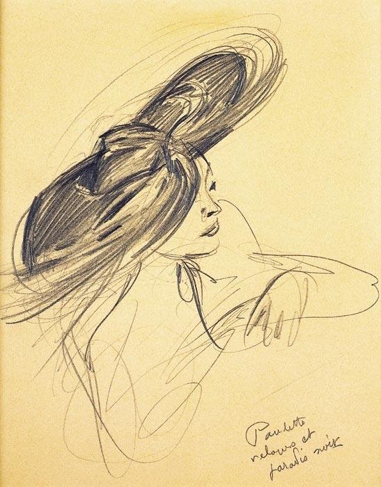Le dessin de mode par Pierre-Laurent Brenot